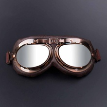 Mountain bike protective glasses bronze retro goggles outdoor sports motorcycle Outdoor riding equipment
