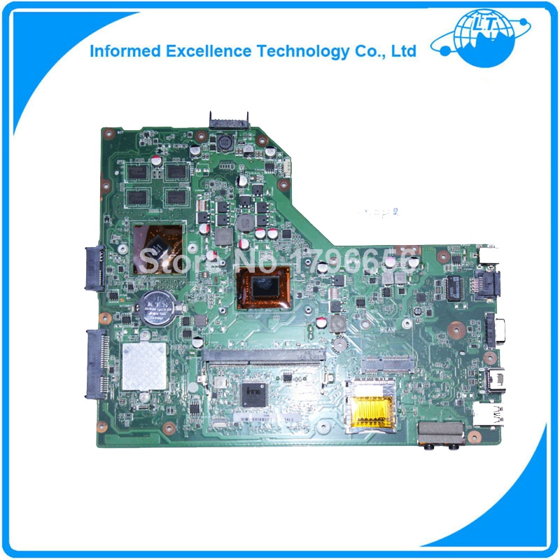 Original laptop motherboard for ASUS K54HR Motherboard with i3 cpu Rev2.1 PGA989 DDR3 USB3.0 Working perfect for asus u36jc motherboard with i3 380m 390m processor gt310m with 1gb ddr3 vram 100