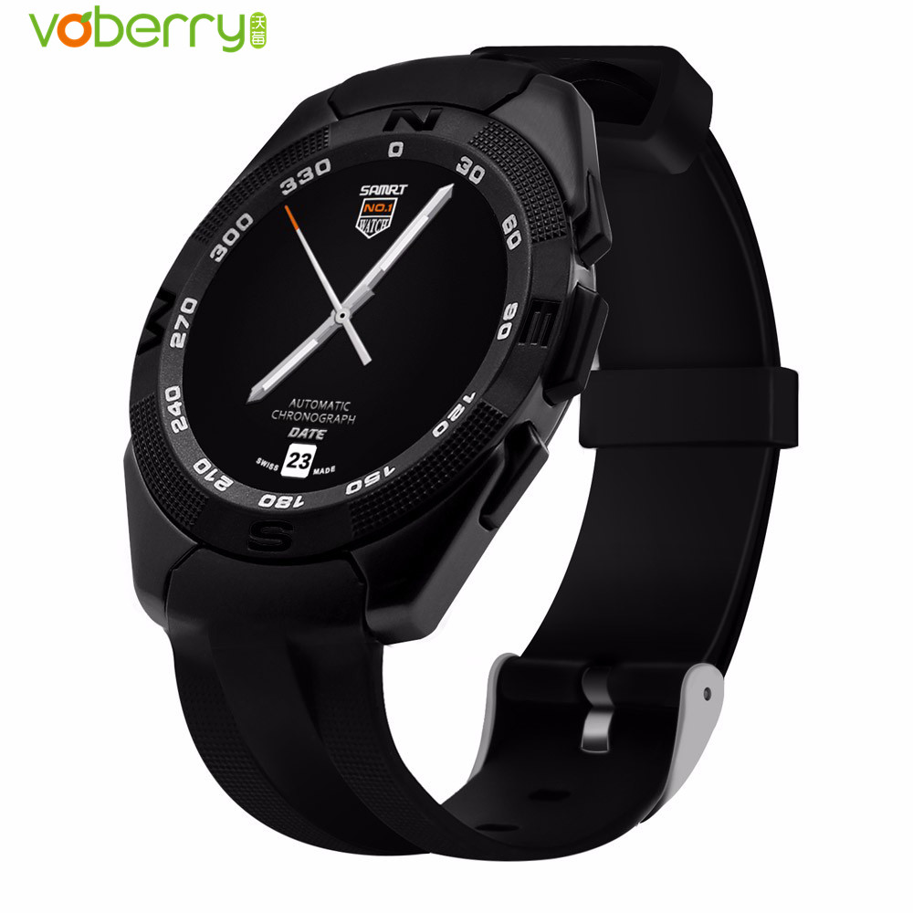 VOBERRY G5 Smart Watch Heart Rate Monitor Fitness Tracker MTK2502 Smartwatch Call SMS Reminder Camera Watches for Android iOS new original no 1 g6 smart watch mtk2502 sport bluetooth 4 0 tracker call running heart rate monitor smartwatch for android ios