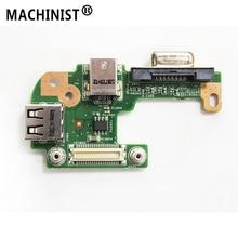 DC power Jack board Für Dell Inspiron 15R N5110 mit VGA USB 2,0 DQ15DN15 48,4 WENN 05,021 48,4 WENN 05,011 100% geprüft Schnelles Schiff