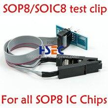 Более широкая Золотая игла soic8 sop8, тестовый зажим для eeprom, клипса для вспышки для TL866ii plus/TL866CS/A EZP2010/2013 RT809F/H, программатор адаптера