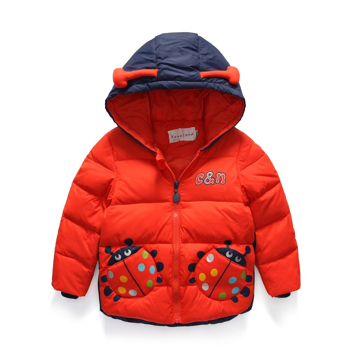 OLEKID 2017 Children Boys Winter Down Coat Cartoon Beatles Hooded Jackets For Girls 3-9 Years Kids Boys Outerwear Coat beatles beatles anthology 3 3 lp