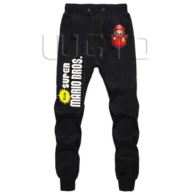 Super Mario Bros Männer Sportswear Hosen Fitness Lange Hosen Harem Hosen Workout Jogginghose Herbst Winter Jogger Casual Hosen