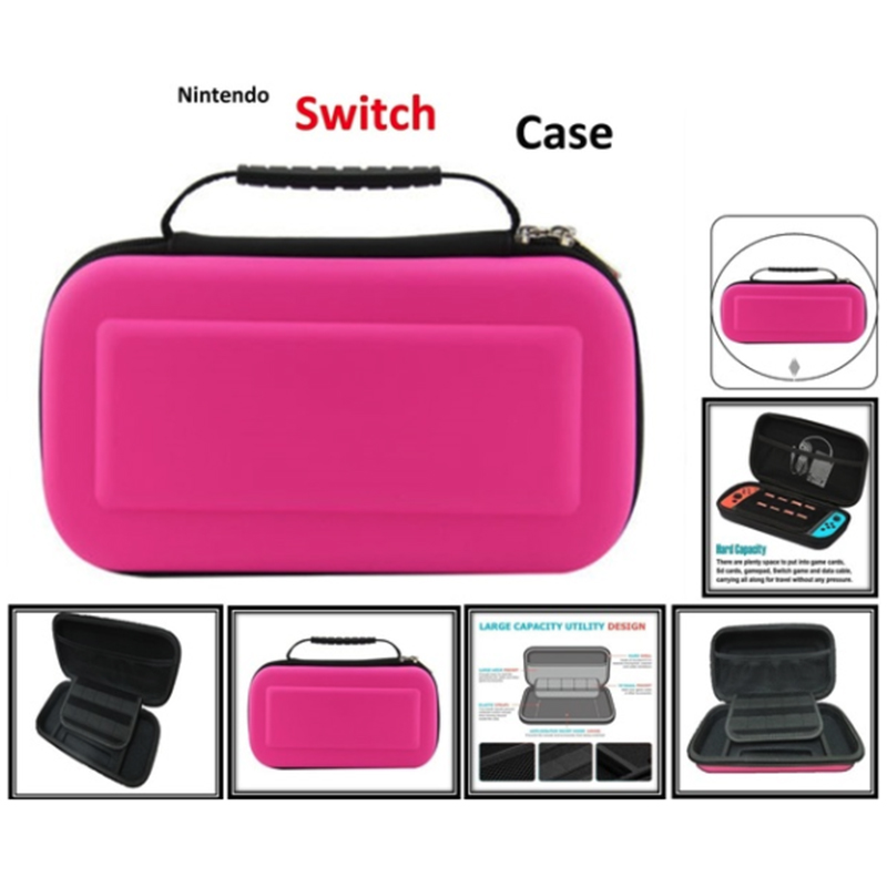 EVA Hard Bag Protection Bag Travel Carry Pouch Cover For Switch NS NX Hard Package Host Portable Game Package-in Bags from Consumer Electronics