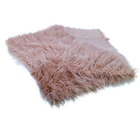 D&J Long 200x150cm Faux Fur for Christmas Newborn Photography Background Backdrops Prop Soft Mongolia Large Furry Rug Shoot Plus