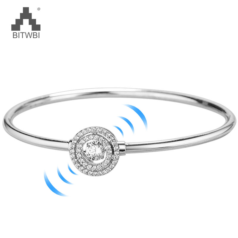 925 Sterling Silver Bracelet with AAA Micro Zircon Paved Round Circle Twinkling Zircon Bangle Bracelet Jewelry for Women 925 Sterling Silver Bracelet with AAA Micro Zircon Paved Round Circle Twinkling Zircon Bangle Bracelet Jewelry for Women
