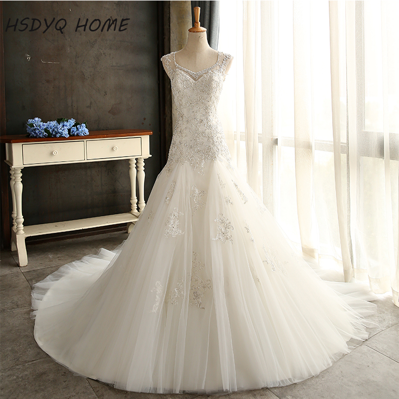 Selling Wedding Gowns: Amazing Mermaid Bridal Gowns Best Selling Vestidos De