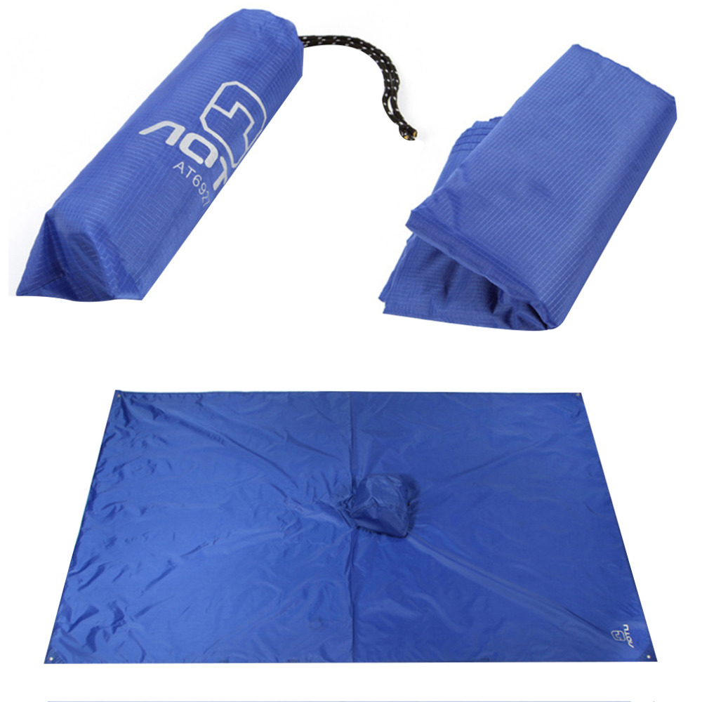 3in1 Multifunctional Raincoat Outdoor Travel Rain Poncho Backpack Rain Cover Waterproof Tent Awning Climbing Camping Hiking Tool Sleeping Bags