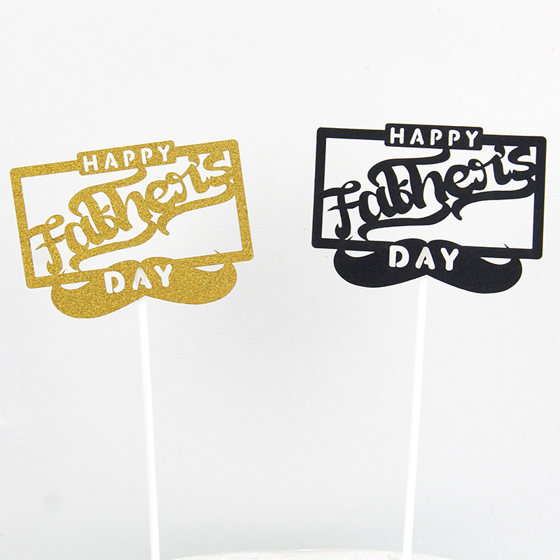 Cake Flags Cupcake Happy Father