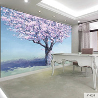 Custom DIY Fabric Textile Wallcoverings For Walls Wall Mural Velvet Cotton And Line Washable For Living