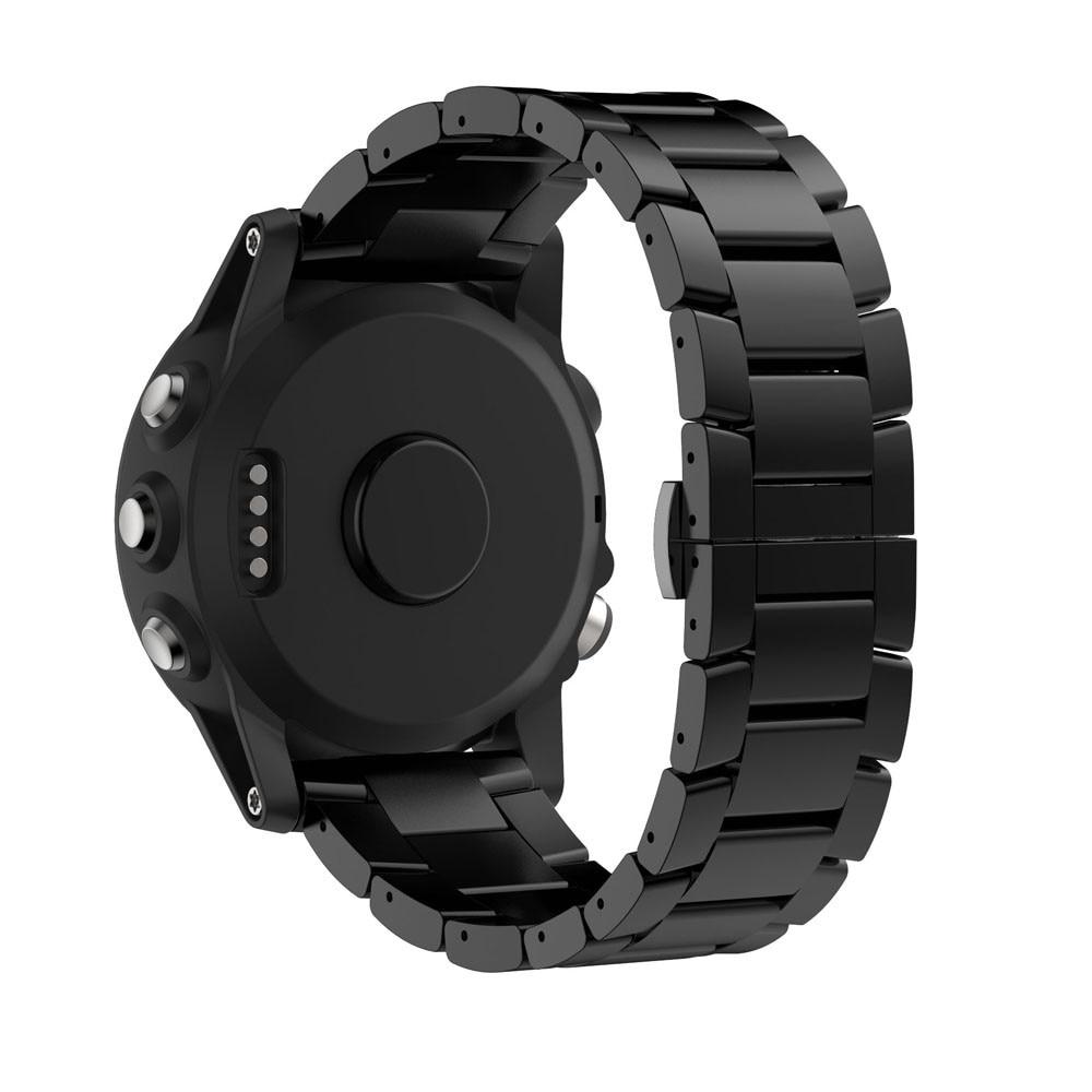 New Arrivals Titanium Steel Bracelet Wrist Strap Smart Watch Band For Garmin Fenix 3 / HR Sturdy and durable Aug29 replacement silicone watchbands strap for garmin fenix 3 fenix 3 hr gps watch with tools smart wristband bracelet