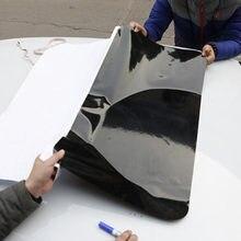 Simulação de carro panorâmico teto solar adesivo pvc personalizado adesivos à prova dwaterproof água decoração exterior tira estilo do carro acessórios