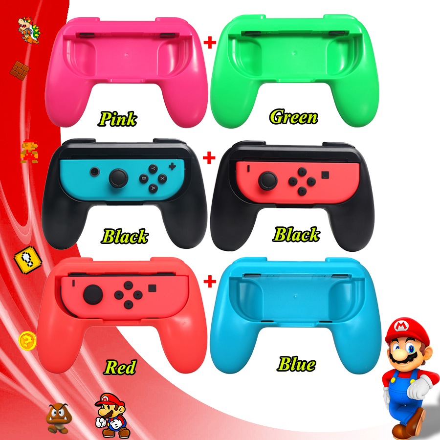 2pcs Nintend Switch Accessories Nintendoswitch ABS Gamepad Grip Handle Joypad Stand Holder for Nintendo Switch Joycon Game2pcs Nintend Switch Accessories Nintendoswitch ABS Gamepad Grip Handle Joypad Stand Holder for Nintendo Switch Joycon Game