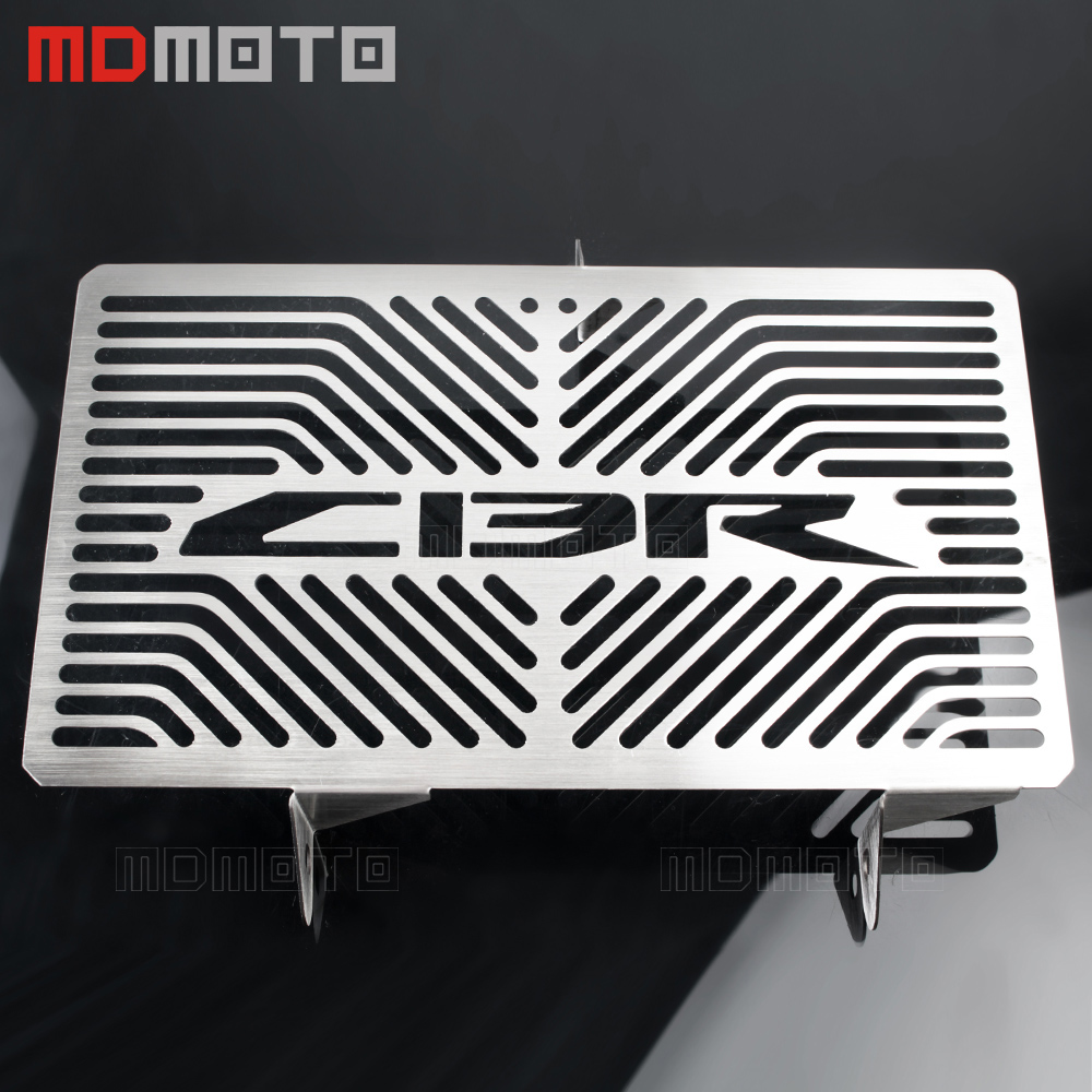 MDMOTO Motorcycle For Honda CBR 250R CBR250R CBR 250 R 2010-2012 Motorcycle Accessories Radiator Grille Guard Cover Protector arashi motorcycle parts radiator grille protective cover grill guard protector for 2003 2004 2005 2006 honda cbr600rr cbr 600 rr