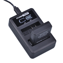 PowerTrust 1×1500 мАч EN-EL14 EN-EL14a EN EL14 Батарея + светодиодный Dual USB Зарядное устройство для Nikon D300 D5300 D5200 d5100 D3300 D3200 D3100