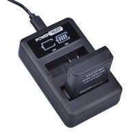 PowerTrust 1x1500 mAh EN-EL14 EN-EL14a EN EL14 Batterie + LED Double Chargeur USB pour Nikon D300 D5300 D5200 D5100 D3300 D3200 D3100