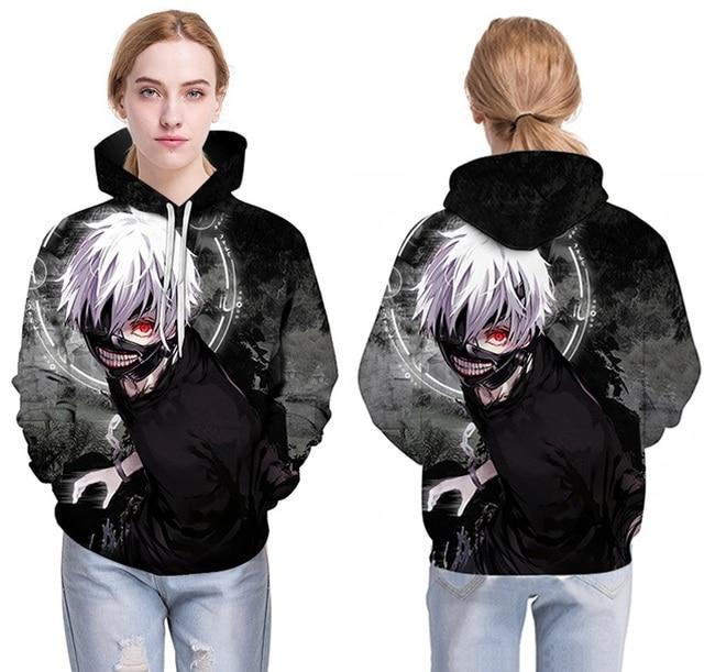 Anime Anime Tokyo Ghoul 3D Sweatshirts Men/women Tracksuits Tops Print Sweatshirts