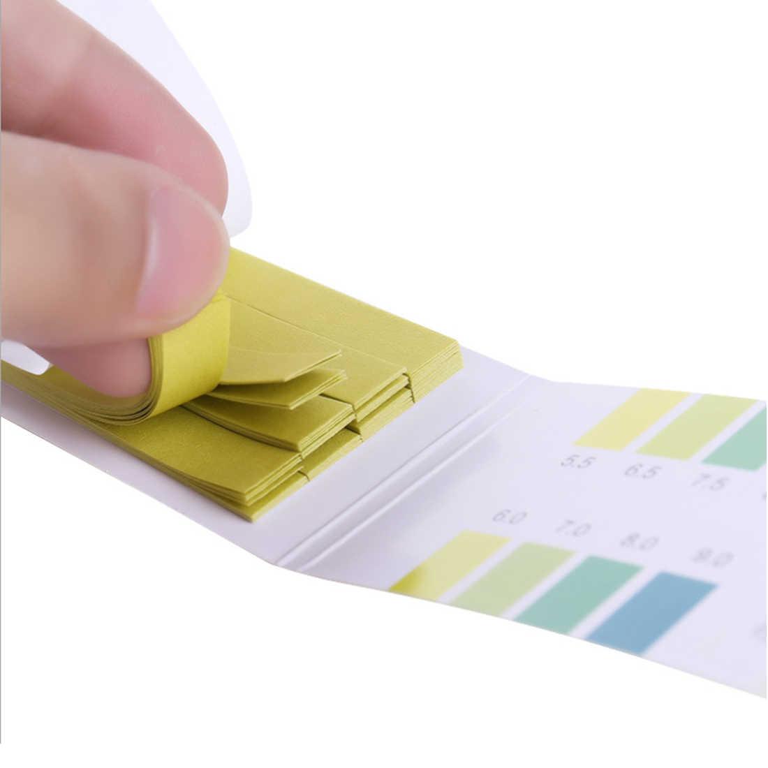 80 PH Strips 5 5-9 0 Litmus Paper PH Tester Papers Universal Indicator  Paper Test for Water Aquarium