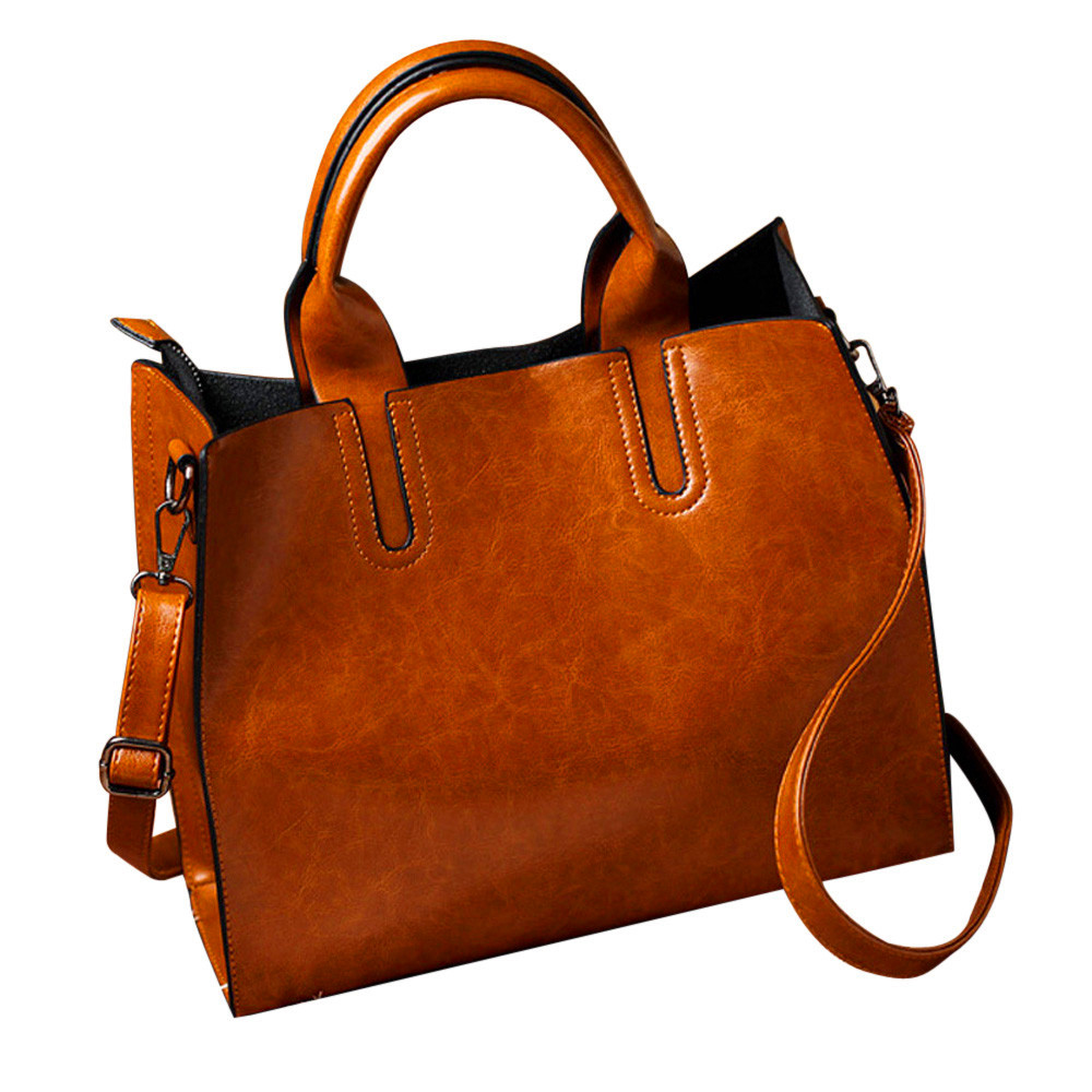 Fashion Leather Handbags Big Women Bag High Quality Casual Female Bags Trunk Tote Spanish Brand Shoulder Bag Ladies Large Bolsos