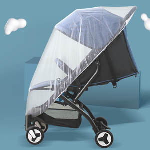Netting-Cart Mosquito-Insect-Net-Accessories Buggy-Crib Baby Stroller Pushchair Full-Cover