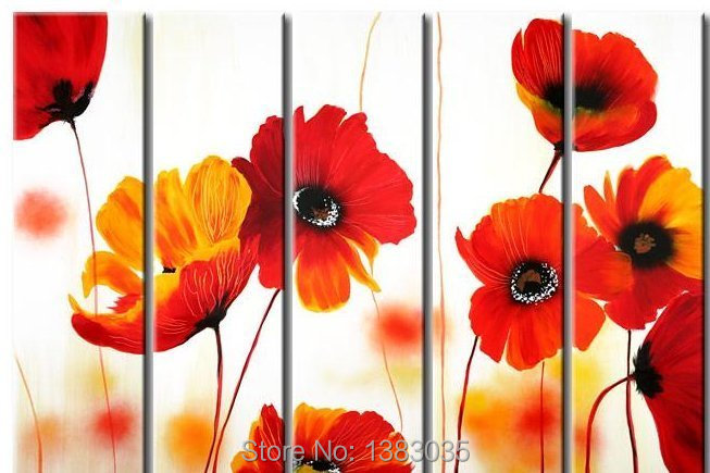 Online get cheap poppy flower painting - How to paint poppy flowers ...