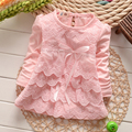 2017 Baby Girls Lovely Lace A-line Dresses Girls Kids Summer  Autumn Dress