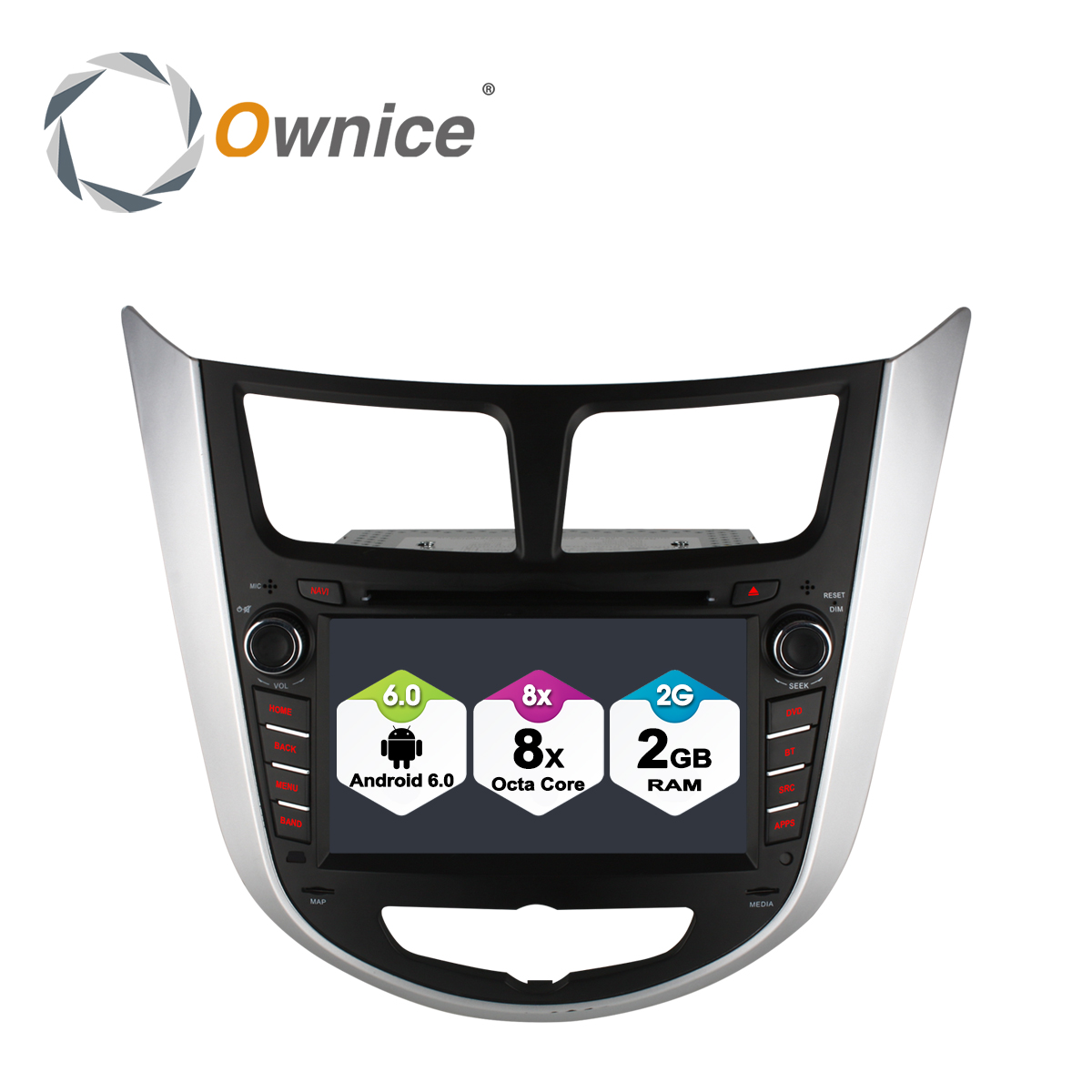 Ownice C500 Android 6 0 2G RAM Octa Core font b Car b font dvd gps