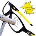Antiestrés Deporte Gafas Gafas De Grau Vidrios Claros Marcos Con Lentes Transparentes Gafas de Moda de Fútbol Para Hombres Mujeres