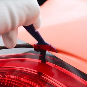 Image 5 - FOSHIO 5pcs คาร์บอนไฟเบอร์ไวนิลห่อฟิล์มรถเครื่องมือแม่เหล็กมุม Stick Squeegee Scraper ปะเก็น Micro หน้าต่างแม่เหล็กชุด