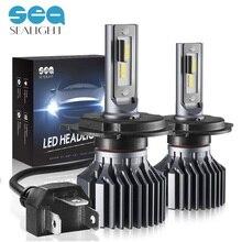 SEALIGHT Auto Faro H7 LED H4 HA CONDOTTO LA Lampadina H11 HB4 9006 HB3 9005 6000 k Luce di Nebbia Auto Proiettore LED lampade Per Auto