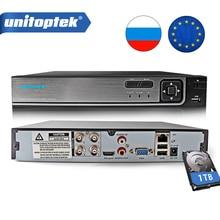 4Ch 8Ch 1080P AHD DVR seguridad 3 en 1 AHD analógico IPC CCTV DVR XVR grabadora de Video coaxial Control P2P vmeyesuper de DVR híbrida