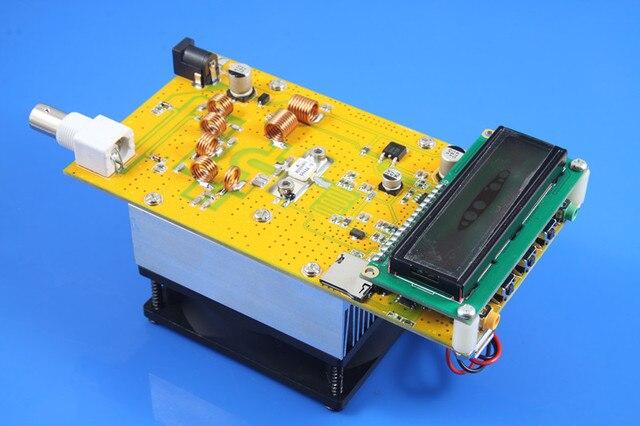 DC 12 В Fm-передатчик 30 Вт Питания регулируемый Цифровой СВЕТОДИОДНЫЙ Радиостанция PLL Стерео FM/объем Промышленной частоты регулируемая