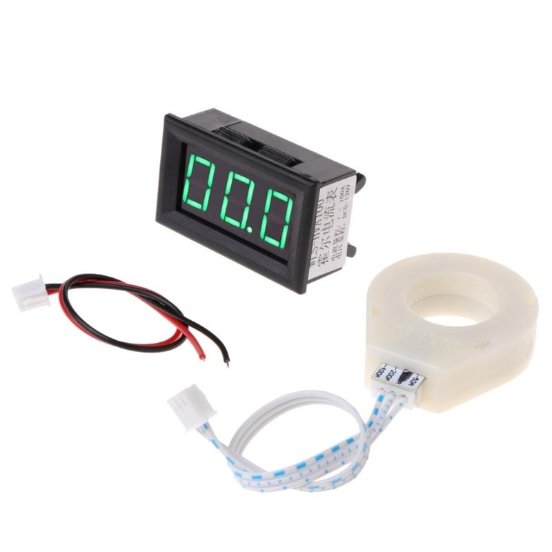DC 5 120V 100A Digital Voltmeter Current Voltage Amp Meter w Hall Effect Sensor in Voltage Meters from Tools