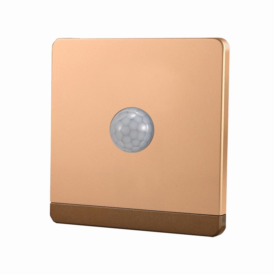 86 mm Width Light Sensing Switch Infrared IR Body Motion Sensor Wall Mount Control Led Light Automatic Module, AC 220V86 mm Width Light Sensing Switch Infrared IR Body Motion Sensor Wall Mount Control Led Light Automatic Module, AC 220V