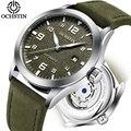 Лидирующий бренд ochстин турбийон автоматические часы мужские водонепроницаемые спортивные мужские кожаные механические наручные часы Муж...