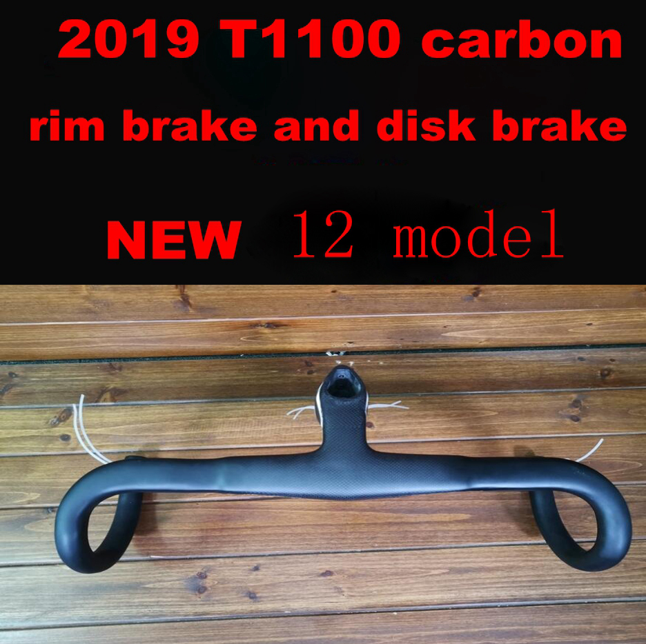 2019 T1100 1k new 12 bike carbon road frame rim disc disk brake bicycle frameset handlebar size 42-59cm made taiwan ship DPD XDB(China)