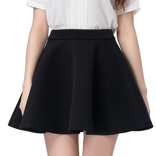 Aliexpress.com : Buy Kate Kaisn Black School Skirts Women 2017 ...