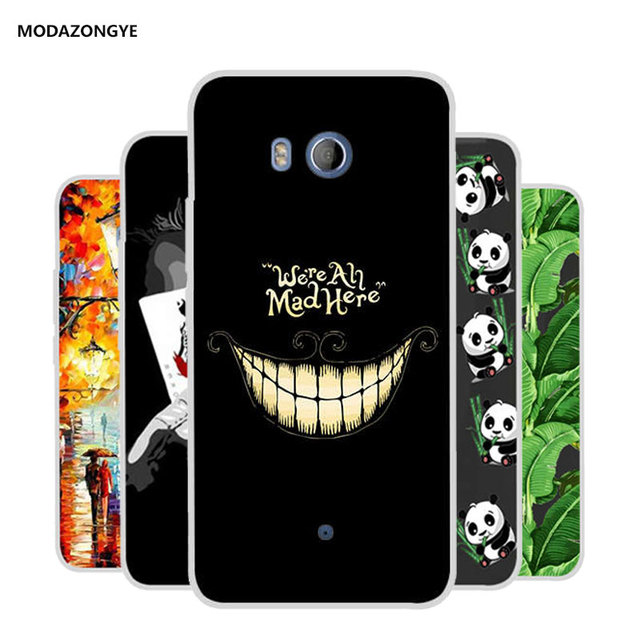 check out b94dd b277c US $2.39 20% OFF|For HTC U11 Phone Case HTC U11 Case Cover Silicone Soft  Tpu Back Cove Case For HTC U11 U 11 Dual Sim Case Cartoon Coque Capa-in  Phone ...