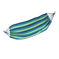 SGODDE 200 X100 Cm 120kg Blue Double Camping Outdoor Leisure Mesh Hammock Cotton Rope Hanging Hot