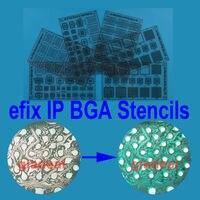 Efix IP BGA סטנסיל ערכת כלי לתיקון דיו של מסכת הלחמה iphone ipad מגע כוח nand פלאש שבב ic reballing תיקון לוח היגיון