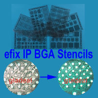 Efix IP BGA Stencils Of Solder Mask Ink For Fix Repair IPhone IPad NAND Flash Power