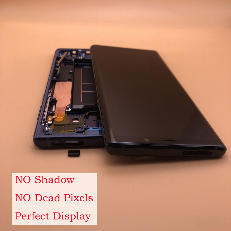 NO Burn Shadow NEW Super Amoled Display for SAMSUNG Note 9 N960 Note9 N9600 N960D N960F LCD Screen Touch Digitizer Assembly-in Mobile Phone LCD Screens from Cellphones & Telecommunications    1