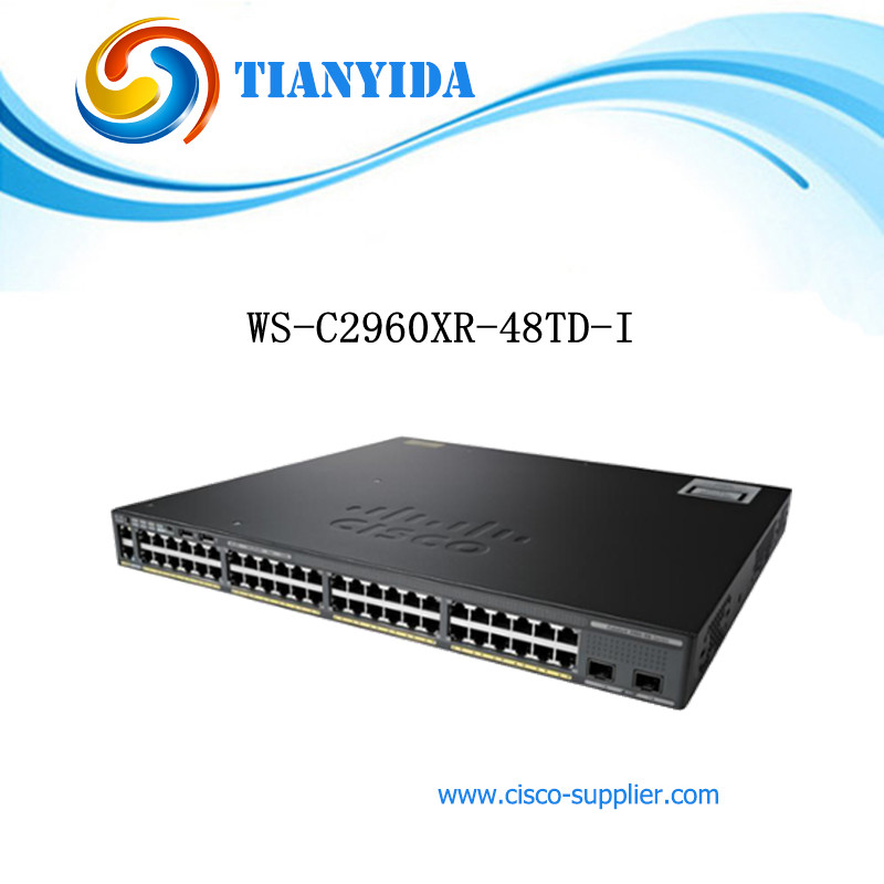 US $2087 0  New Sealed WS C2960XR 48TD I Catalyst C2960XR 48 Port POE  Gigabit Switches IP Lite-in Network Switches from Computer & Office on