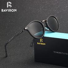def9677a6f BAVIRON 2018 gafas de sol con placa de acetato Unisex Retro gafas de sol  redondas hechas a mano gafas polarizadas gafas populare.