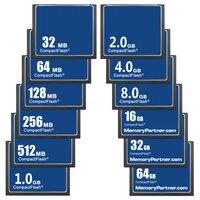 100PCS/Lot Wholesale Cheap CF Card Memory Card Compact Flash 32MB 64MB 128MB 256MB 512MB 1GB 2GB 4GB 8GB16GB 32GB 64GB Used