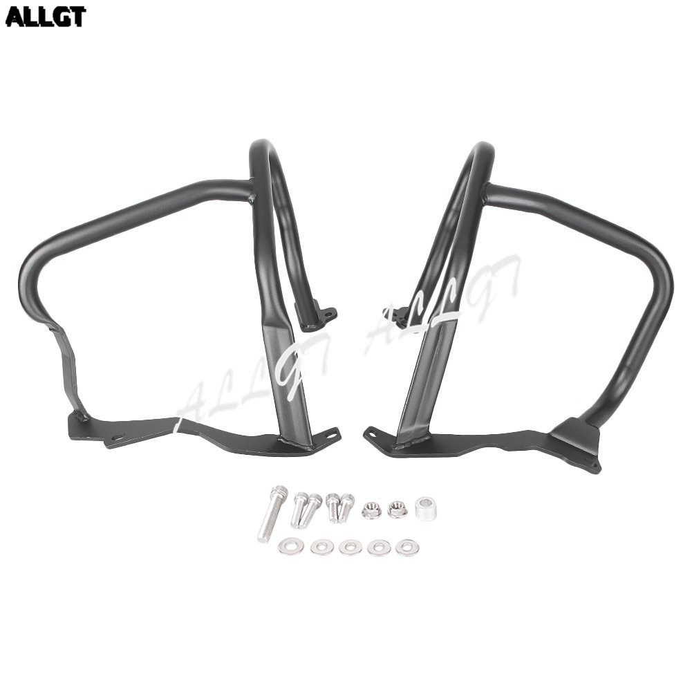 Motorcycle Front Crash Bar Guard Protection for BMW R1200RT 2014-2016 Black