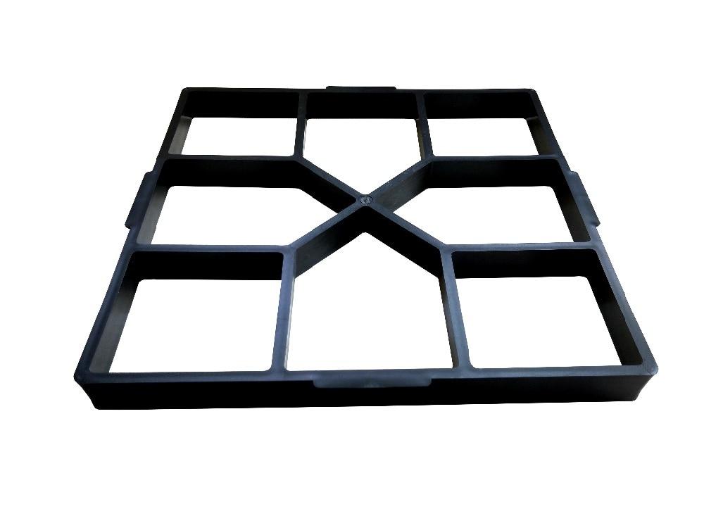 cheapest 1 3pcs Irregular DIY Pavement Mold Walk Maker Path Maker Brick Mold Concrete Form Pathmate Stepping Stone Molds for Garden