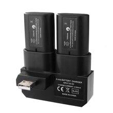 Двойной Аккумуляторная Батарея Комплект с Зарядным Док для Xbox Один Геймпад BC575