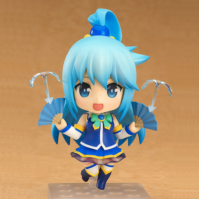KonoSuba: God's Blessing on this Wonderful world! Aqua Q ver. 630#  Nendoroid Action Figure Collectible Model Toy 10cm 1
