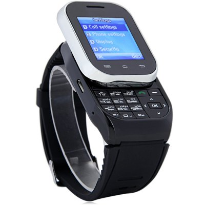 WristWatch With Speaker Music Player Support Dual SIM Card Stand By Answer Call Dial Call Clock Reminder Smart Phone Watch